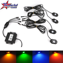 Universal RGB Color Without Remote Bluetooth Control 9W Super bright led chassis light under car led truck underbody light