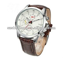 HOT customized stainless steel Japan Quartz watches men