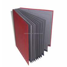 Stylish Signature Book With Red PVC Cover(BLY8-0710SB)