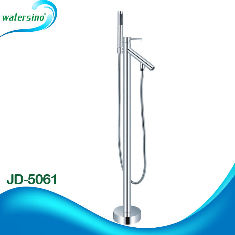 bathroom accessory free standing bathtub whirlpool waterfall faucet