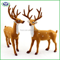 Christmas indoor home decoration mini handicrafts elk deer model