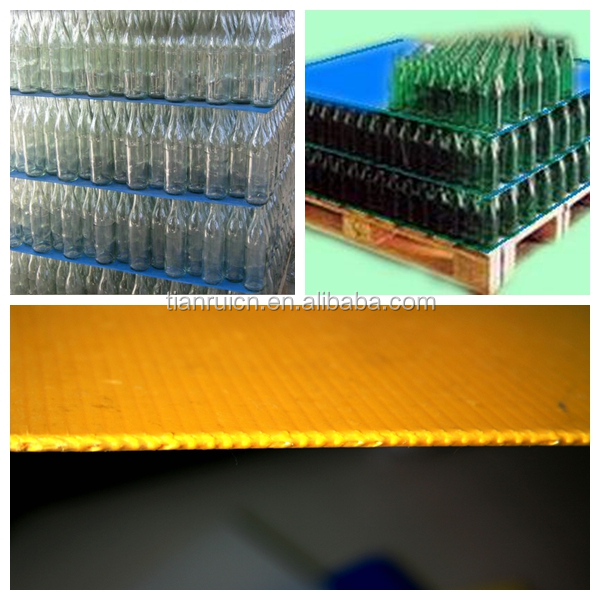 Best price plastic corrugated corflute fluted pp Polypropylene Cartonplast Dividers layer pads separator sheets boards