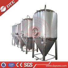 Cooling Water Jacket Conical Stainless Fermenter Tank, fermenter tank jacket