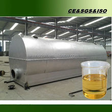 Vacuum safe devices continuous black oil recycling machine with CE ISO