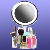 desk makeup mirror tabletop mirror round mirrors