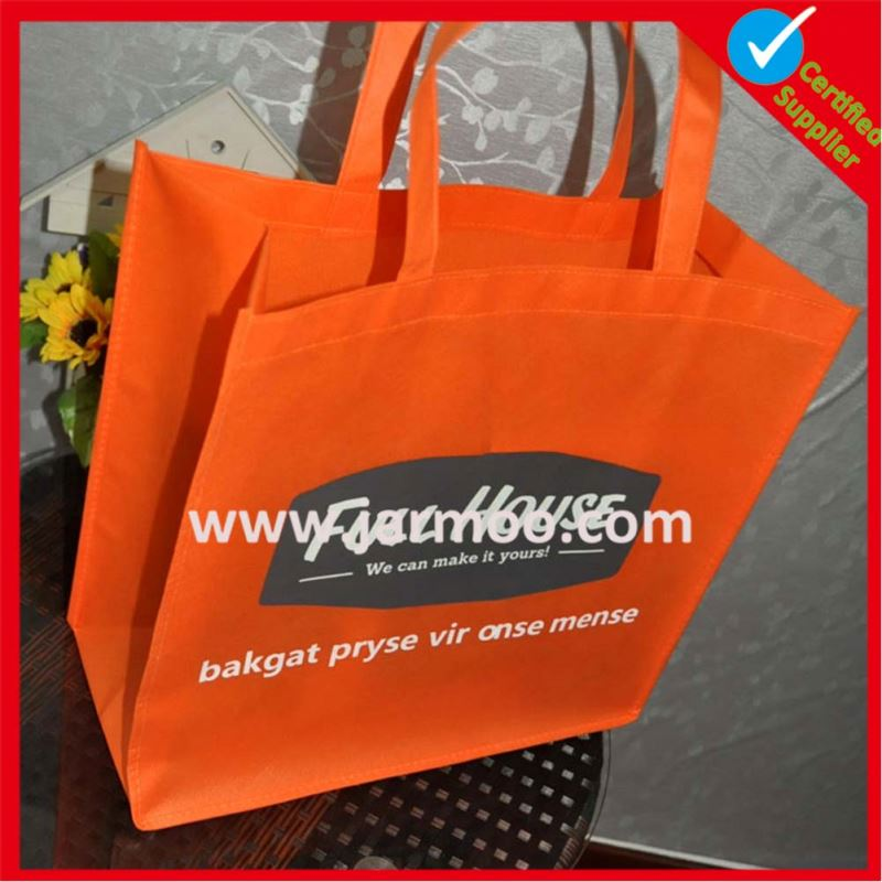 ECO pp laminated non woven bag for shopping