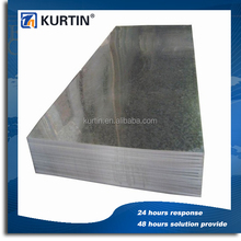 galvanized finish gi sheet price for metal industry