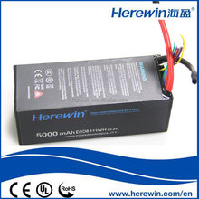Best polymer battery 6S1P 5Ah 22.2V/lithium ion battery technology/material/equipment supplier H5000 6S.60