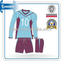 SUBSC-201 soccer quality mens polyester sport kits