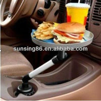 plastic folding car food tray Car Swivel Tray