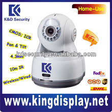 "Dahua H.264 1/4"" CMOS Pan/Tilt Wifi IP Camera outdoor with SD Card 3D postioning supported"