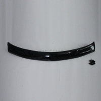 mitsubishi l200 triton 2006/2007/2009 accessories door guard bonnet guard black wind guard