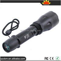 Smiling Shark SS-9037 Rechargeable LED Flashlight with Compass