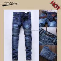 Jeans wholesale china cheap price high quality boyfriend style denim biker jeans trousers for men