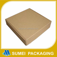 Factory custom cheap price corrugated carton shipping box with logo printed