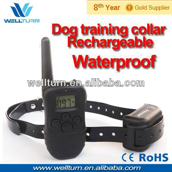 Wholesale remote train well dog bark collar
