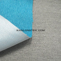 100% polyester linen look fabric Bahama with Pongee