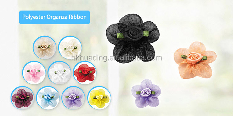 Exclusive Design High End Pearl Sequin Artiticial Wedding Flower Decoration Satin Ribbon
