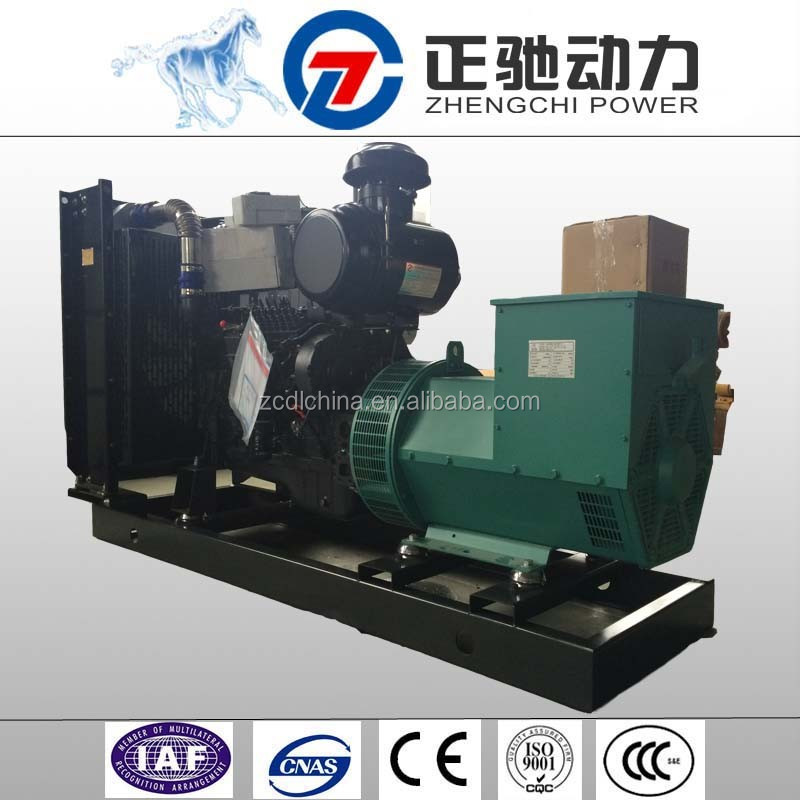 150 kw small diesel lister engines for sale with shangchai engine SC7H250D2