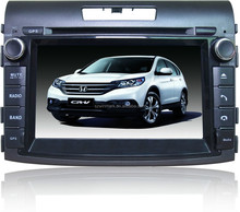 DH7037 touch screen car DVD for Honda CRV 2012 accessories with gps navigation & car multimedia player