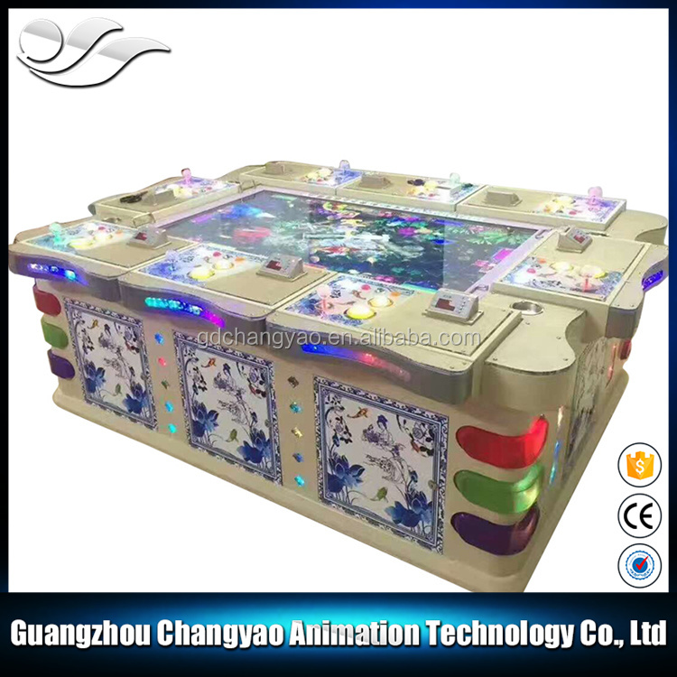 Hot Selling IGS Thunder Dragon Coin Operated Game Machine Fishing Money In Game Machine
