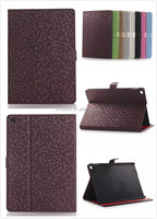 diamond pattern Leather Wallet Case with stand for ipad 6 air 2