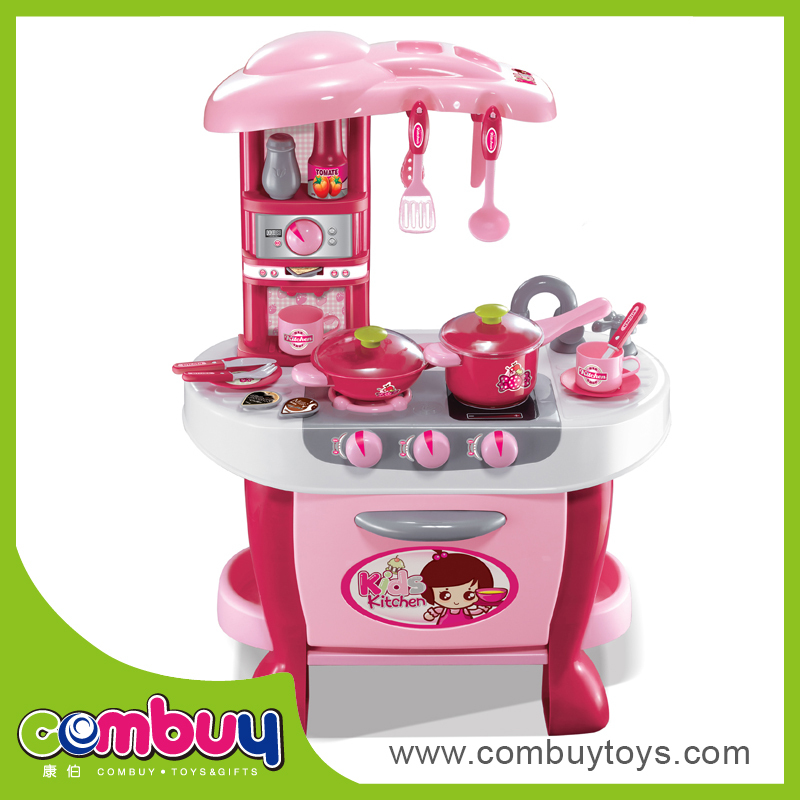 Preschool Modern Mini Kitchen Set Toy For Children