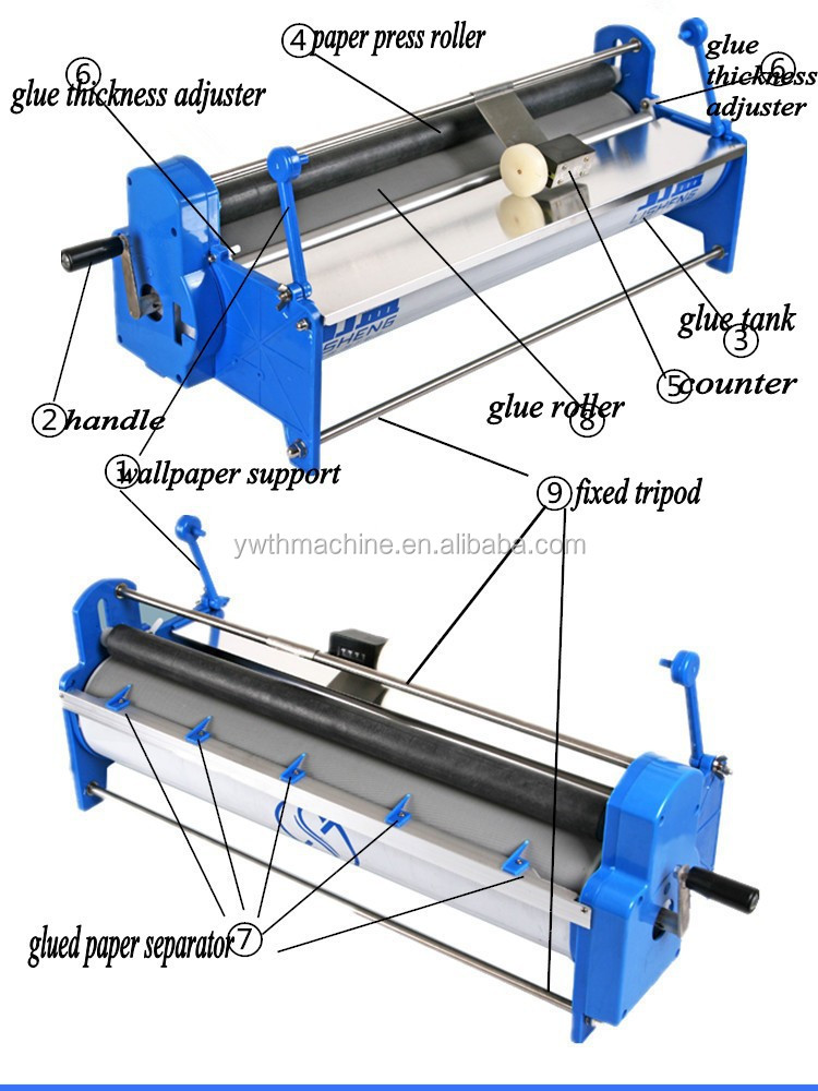 glue roller machine