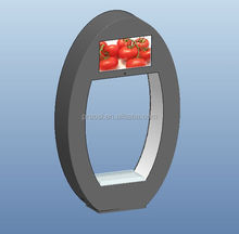 Egg design for video display shelf for promotion