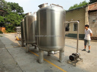 Guangzhou manufacturer Stainless steel fish pond/ mineral making water filtration system ro