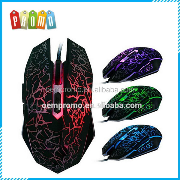 4000DPI Changeable Colorful Breath Lamp drivers usb 6d Gaming Mouse