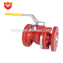 Hydraulic Casted Flanged Connection Ball Valve