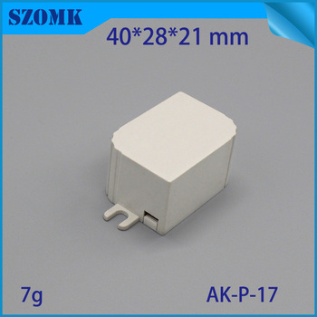 40*28*21mm led plastic housing case small electrical box