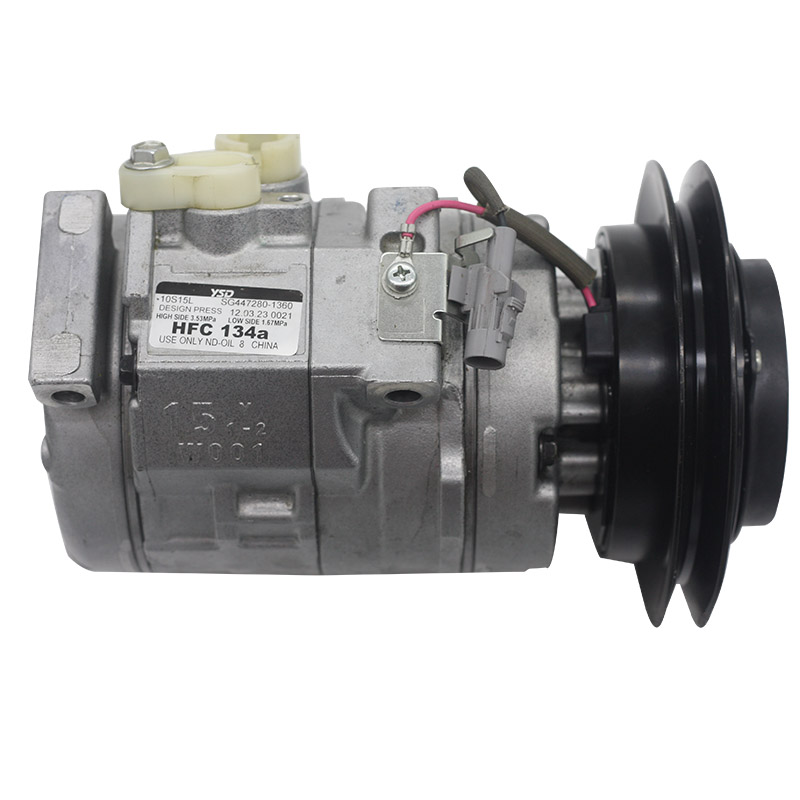 Factory direct excavator electrical parts AC compressor