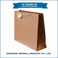 2016 Hot type Durable Quality-assured grocery brown paper bags