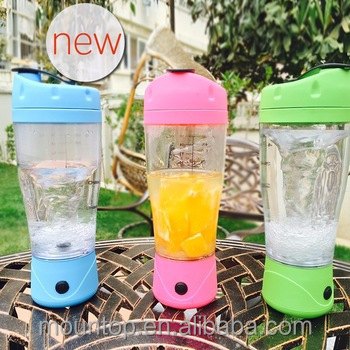 new joyshaker bottle battery operated vegetable and fruit juicer bottle