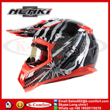 KCM1635 Top quality cascos motocross helmet motorcycle casco motocross Dirt Bike Helmet NENKI new design motorcycle helmet