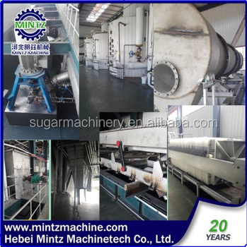 high extraction raw sugar refining processing line with low strike time