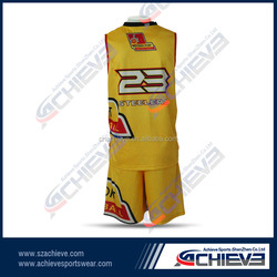 custom digital printed basketball Tops Custom made hot basketball tops in 2015