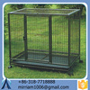Well-suited large outdoor wrought iron dog kennel/pet house/dog cage/run/carrier