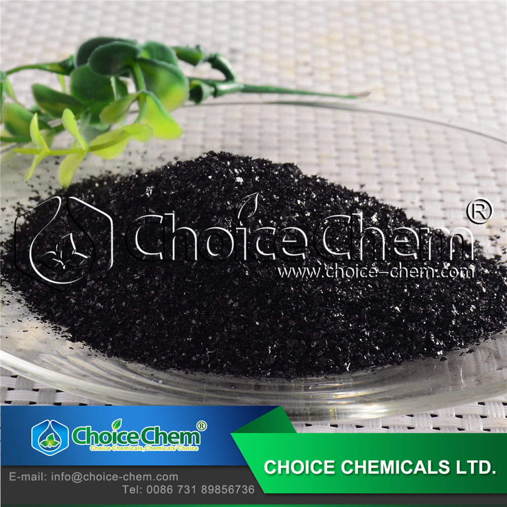 High Efficiency Fertilizer Potassium Humate Shiny Flakes