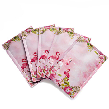 OEM Safety And Environmental Dust Eco-Friendly Customized uv Printed Facial Sheet Mask Packaging Pouch
