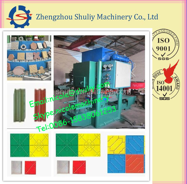 Shuliy tile press machine/roof tile machine/ceramic brick machine0086-15838061253