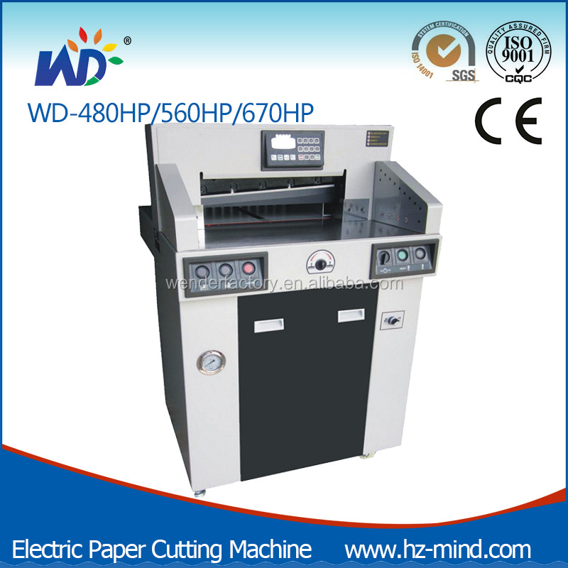 Professional manufacturer Heavy duty high speed Program-control Hydraulic Paper Cutting Machine