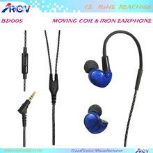 Fashion colorful stereo wired earphone for sports hindi movie mp3 free download songs