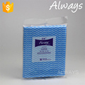 Household spunlace woodpulp polyester non woven cleaning products/wipes
