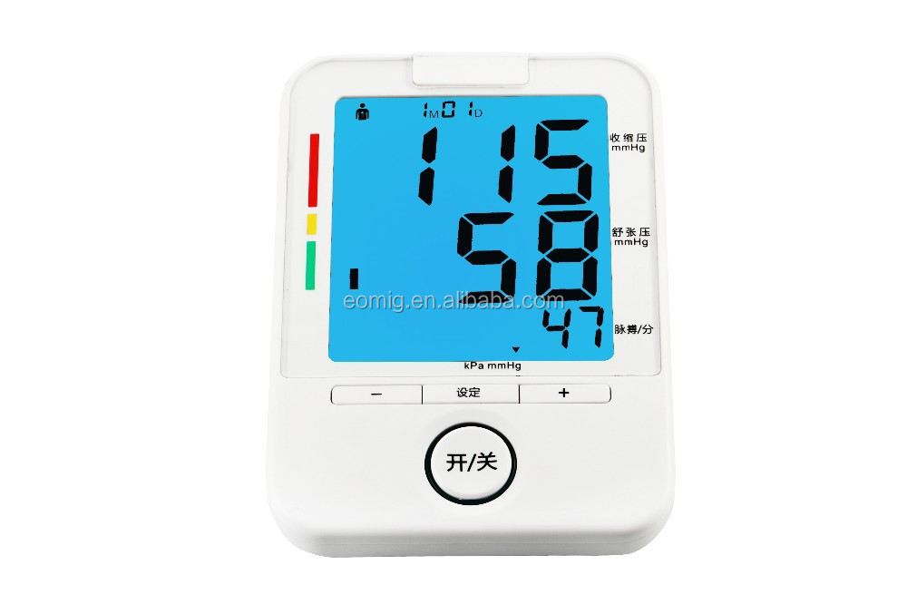 AOEOM Backlight blood pressure machine match high blood pressure medicines
