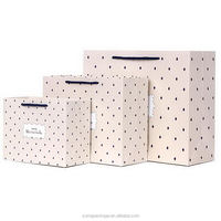 High quality crazy selling pink gift bag paper handbag