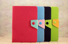 for ipad2/ipad3/ipad4 leather case