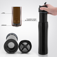 FDA approved double wall portable coffee maker for Kaffee & Espresso